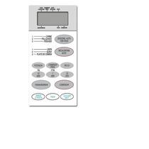 Teclado Frente Membrana Microonda Bgh P 742511md 20-2511