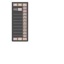 Teclado Frente Membrana Microonda Bgh P74 2254 Md 7-2384