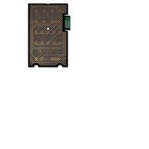Frente Membrana Teclado Microondas Kor 881c Md 79-2700