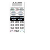 Frente Membrana Teclado Microonda -4831