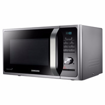 Microondas Samsung 28 Litros 900 W. Grill - Silver / Negro *