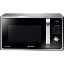 Microondas Samsung 28 Lts 900w Grill Plata Negro Beiro Hogar