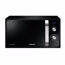 Microondas Samsung 23 Litros Negro Mg23f3k3tak Gtia Envio