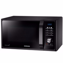 Microondas Samsung 23 Lts Negro Grill 800 Watts Ecomode