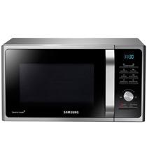 Microondas Samsung 28 Lts Digital 900 W Grill Silver Ecomode