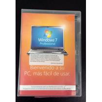 Windows 7 Profesional 64 Bits Español Original (en Caja)