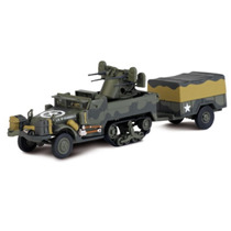 M16 Mgmc & 1 Ton Trailer - Blindados De Combate Altaya