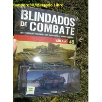 Blindados De Combate N°45 Ixo Altaya Vab 4x4 1/72 Nuevo