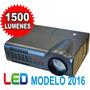Mini Proyector Led Tv Full Hd 1080p 1500 Lum Hdmi Vga Usb 3d