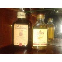 Botellitas Miniatura De Whisky