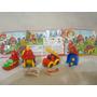 Coleccion Completa Bomberitos Vehiculos Kinder Año 2005