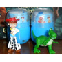 Lote Muñecos Huevo Grezon Tipo Kinder Con Cartina Toy Story