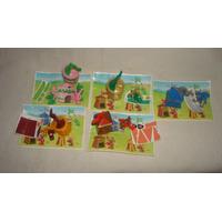 Coleccion Completa Casitas Funny Castle Kinder Sorpresa 2004