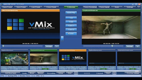 Mixer De Video Sd-hd (vmix Pro V.11)