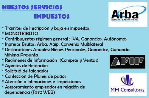 Mm Consultoras - Estudio Contable / Contadora Pública