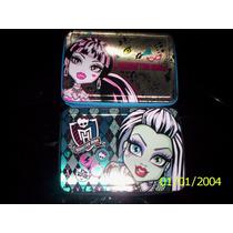 Monster High-cartuchera 1 Piso Metal-canopla-ideal 1º Grado!