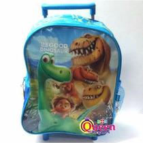 Mochila Carrito Un Gran Dinosaurio Disney Jardin 12 Pulgadas