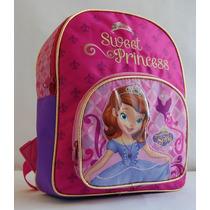 Mochila Princesa Sofia 14 Espalda - Licencia Original Disney