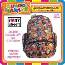 Mochila Espalda 47st - 18 Pulgadas - Original - Mundo Manias