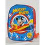 Mochila Mickey Y Pluto Nueva Coleccion V. Crespo