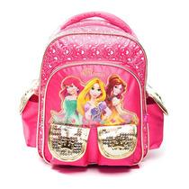 Mochila Infantil 12 Espalda P/ Jardin Princesas Cars Premium