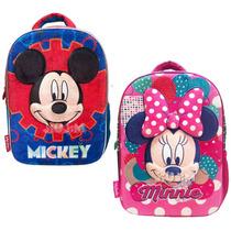 Mochila Espalda Ideal Jardin Infantil Mickey O Minnie Jiujim