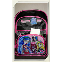 Mochila Monster High ,frozen, Violetta Reforzada