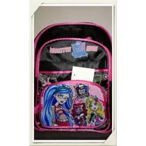 Mochila Monster High ,frozen, Violetta Reforzada