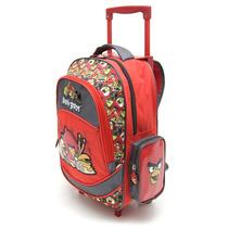 Mochila Angry Birds Con Carro 15\
