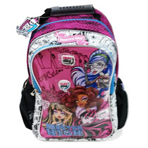 Mochila Espalda Monster High 16 Pulgadas Original Mattel