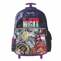 Mochila De Carrito Monster High Con Licencia Original 18
