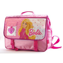 Barbie Morral Mochila Maletin 3 En 1 Escolar Mattel Original