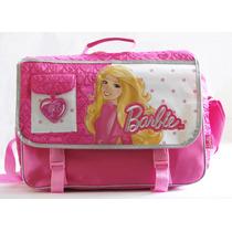 Barbie Morral Mochila Maletin 3 En 1 Escolar Mattel Original