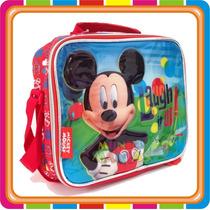 Lunchera Termica Disney Mickey - Original - Mundo Manias