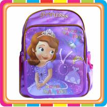 Mochila Espalda Princesita Sofia - Disney - Mundo Manias