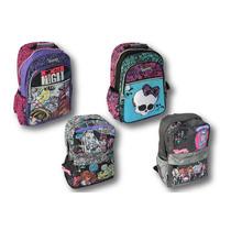 Mochila Espalda Monster High Orignales Mattel Escolar