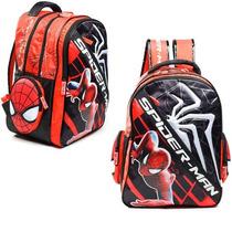Mochila The Amazing Spiderman Espalda 17 - Licencia Marvel