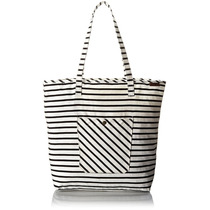 Bolso Tote Bag Playero De Lona Roxy Rocker