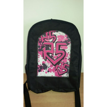 Mochila Estampada Personalizada De R5, One Direction Y Mas
