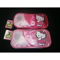 Hello Kitty-cartuchera-canopla-portacosmeticos- C/cierres!!