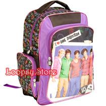 Mochila One Direction Original - Grande Primaria Secundaria