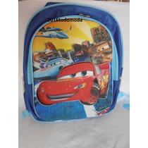 Mochilas Cars Escolares Infantiles Super Heroes 3d