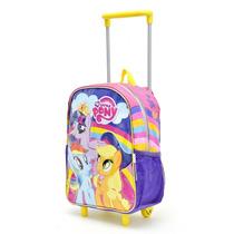 Mochila Little Pony Con Carro 12\