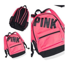 Mochilas Victoria`s Secret Campus Large Pink Varios Colores