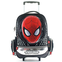Mochila Escolar Spiderman Con Carro 17 Pulgadas Marvel