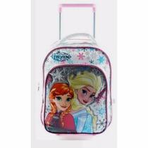 Mochila Carrito Jardin Frozen Anna Elsa 12 Pulgadas Disney