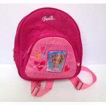 Mochila De Espalda Barbie Niña 2 A 5 Años Boedo Capital