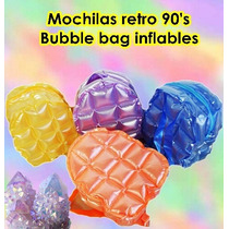 Mochilas Buble Bag Inflables Retro 1990