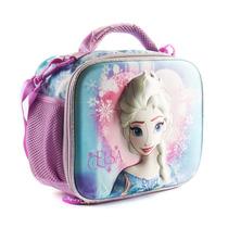 Lunchera Termica Frozen Elsa 3d Termoformada Jugueterialeon