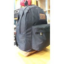 Mochila Simil Jansport Base Gamuza Loc. 8 Cuadras Plaza Once